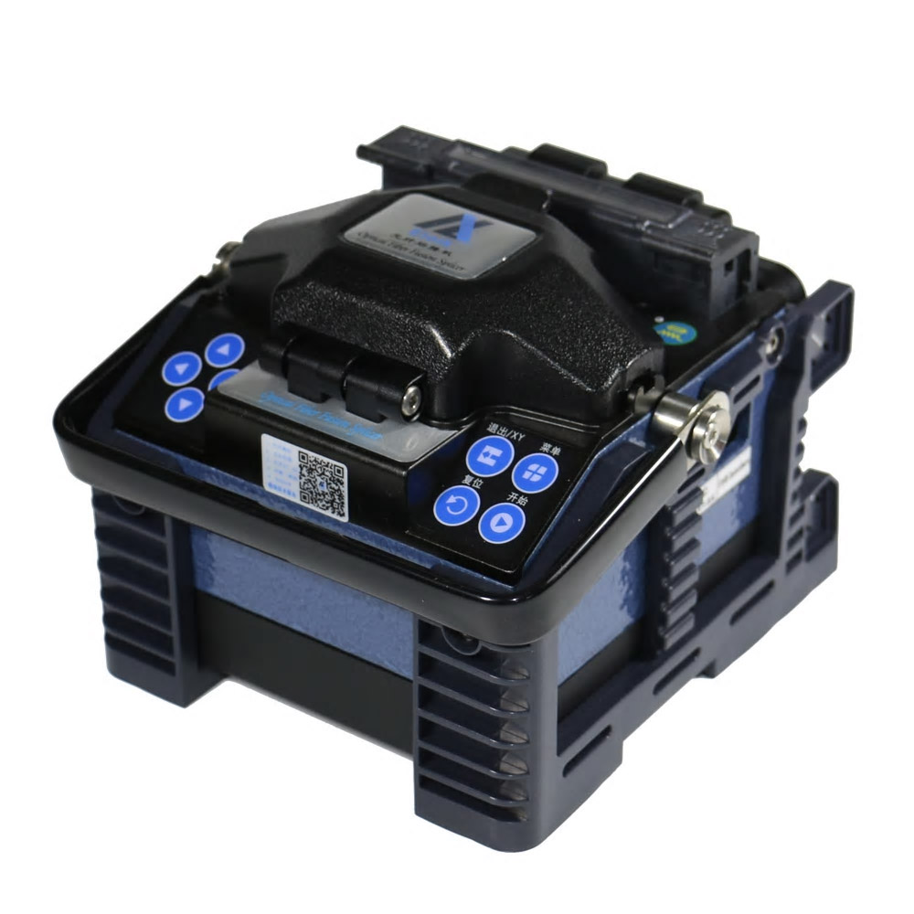 Eloik ALK-88 Fiber Optic Splicing Machine ALK-88A Fiber Optic Fusion Splicer Cleaver Automatic Focus Function 4.3