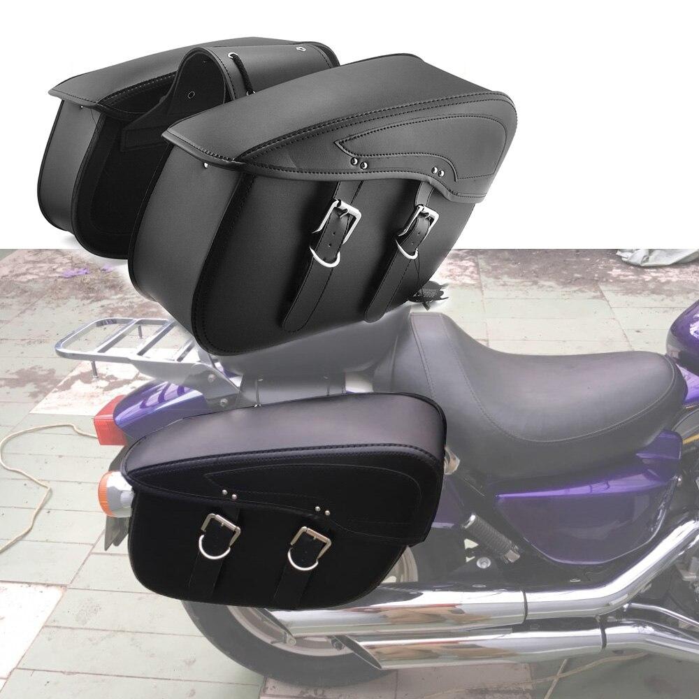 2X Motorcycle Saddlebag leather motorcycle Saddle bags For Indian Scout 2015-2018 For Indian Motorcycle iron indian values