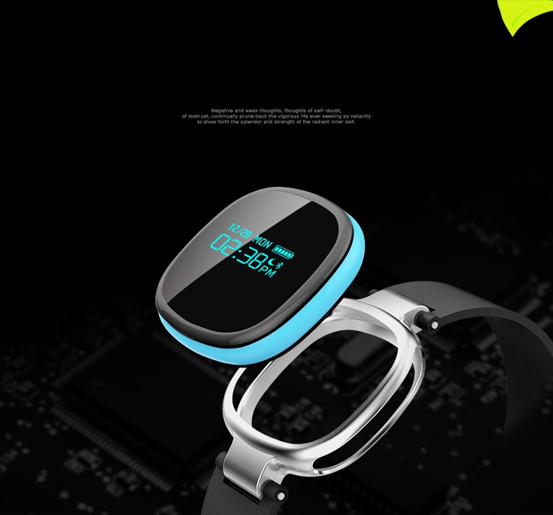 ФОТО Smart E08 Waterproof Bluetooth 4.0 Heart Rate Swimming Monitor IP67 Waterproof Fitness Tracker for IOS Android