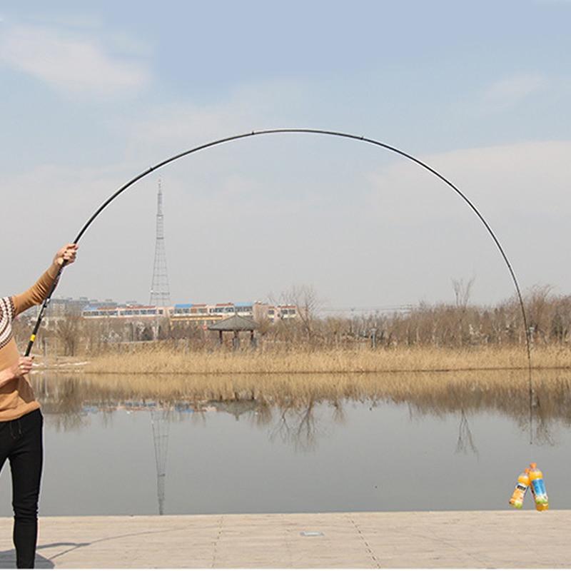 Ultra lengvas anglies tiektuvas žvejybos teleskopinės roko - Žvejyba - Nuotrauka 4