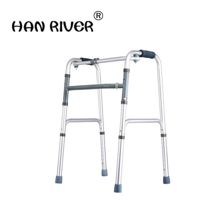 HANRIVER 2018 Disabled four legged crutch old man walker armrest bracket elderly walking fracture walking AIDS