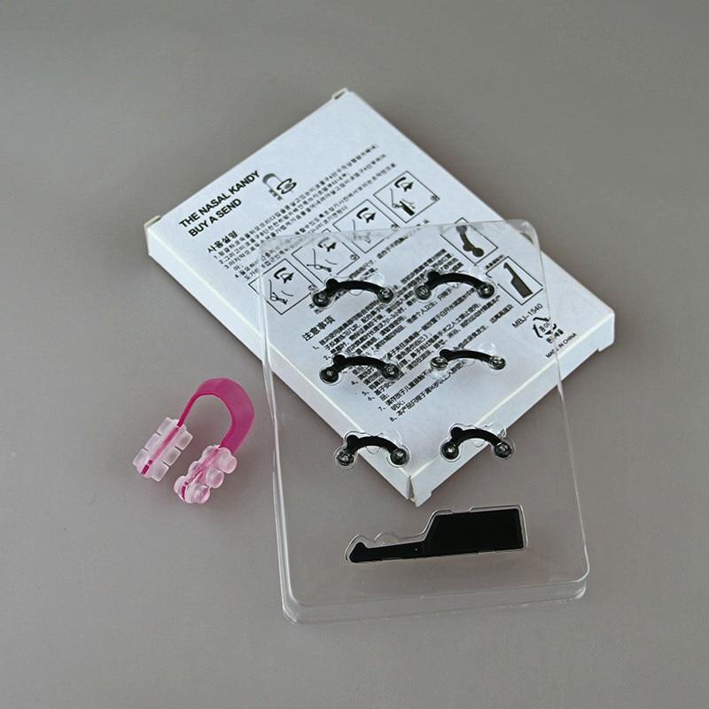 1 conjunto nariz up levantamento shaper ponte clipper endireitamento beleza 3d nariz clip corrector massagem ferramenta 3 tamanhos sem dor