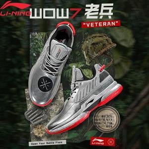 Image 2 - Li Ning Uomini WOW 7 VETERANO Scarpe Da Basket wayofwade 7 CUSCINO wow7 Fodera li ning CLOUD BOUNSE + Sport scarpe ABAN079 XYL212