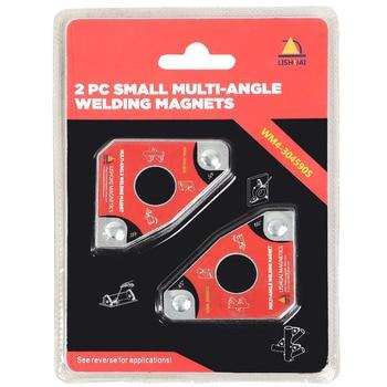 Çok açılı Mini Kaynak Mıknatısı/Neodimyum Manyetik Holding için Kelepçe 2 adet e N e n e n e n e n e n e n e n e n e Paketi