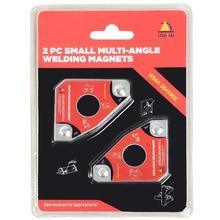 Многоугольный мини-сварочный магнит/Неодимовый магнитный зажим для хранения 2 шт. Twin Pack