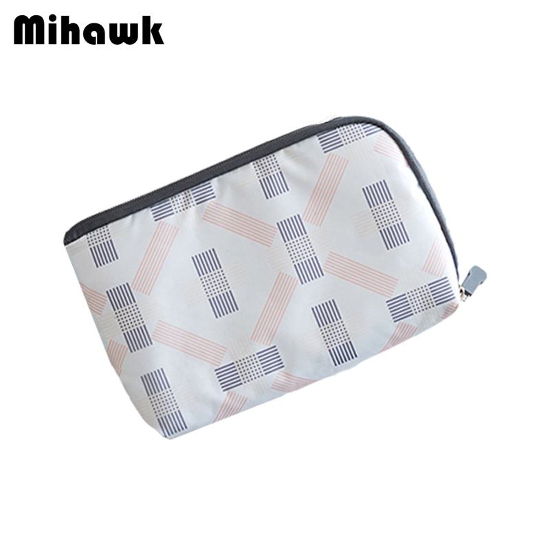 Mihawk Fashion Digital Bag Multi-function Travel Pouch Data Lines Power Bank Package Portable Case Accessories Supplies Products