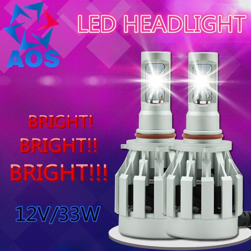 2 x LED Car Headlight Kit CREE LED Bulb H1 H7 H11 H16 HB3 HB4 9005 9006 9012 HB3 HB4 6000K Headlamp light 40w led car headlight h3 auto conversion kit cree h1 h3 h4 h7 h11 9005 hb3 9006 hb4 4800lm headlamp