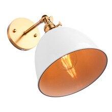 Lámpara de pared Vintage moderna con forma de campana, lámpara de pared para apartamento, accesorios, enchufe E27 con interruptor (Sin bombilla incluido)