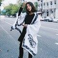 Европейской и Американской моды сексуальные плюс размер шарфы Камелии долго овец бархат шарф платок оптовая все матч двойной весна wj62