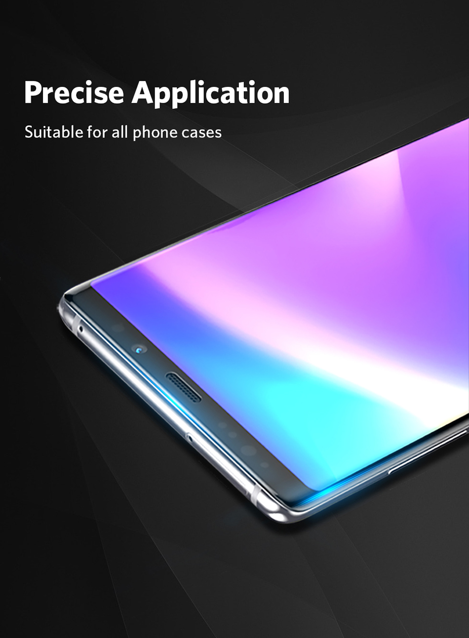 Benks Full Cover Tempered Glass 9H For Samsung Note9 0.3mm Thin Protector Screen Front Film (9)