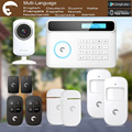 chuangkesafe Android/IOS APP eTiger Newest Burglar Alarm S4 GSM/PSTN WIFI IP Camera For Security Safe