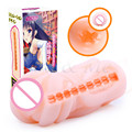 5 Tipo de Anime Japón Vagina Real Coño Falso de Silicona Gatito Del Bolsillo Masturbador Masculino Realista Vagina Artificial Juguetes Sexuales para Hombres