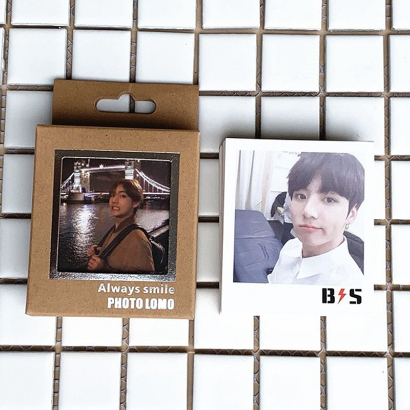 40pcs/box K-pop Bts Bangtan Boys Love Yourself Album Photo Cards Blackpink Self Made Lomo Cards Photocards