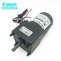 Bringsmart 2IK06GN C AC 220V Single Phase Fixed Speed Motor 6W AC Constant Speed Motor 10rpm 500rpm Reversible Induction Motor