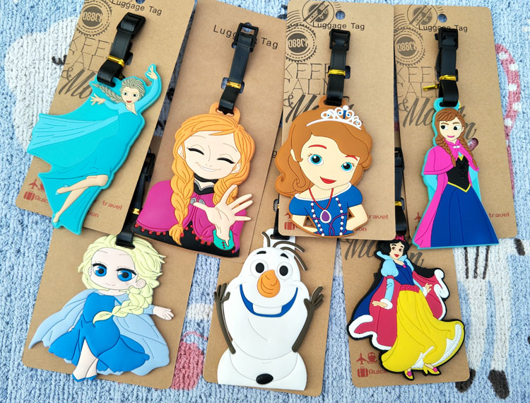 Anna Banana II Luggage Tags Suitcase Labels Bag Travel Accessories Set of 2