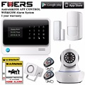 Russian/Spanish/English/French voice  WiFi Alarm System Home Security GSM Alarm System with IP Camera