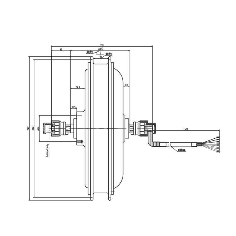 20-28 inch 36 v 48 v 500 w Brushless קדמי גלגל שאינו gear מנוע חשמלי אופני המרה V/דיסק בלם מנוע ישיר