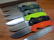5PCS/LOT New sale Efeng E-R1 Folding Knife With Sand Light Surface 9CR Blade G10 Handle Camping Hunting Knives Outdoor Tools