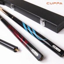 Снукер CUPPa снукерная ручка 3/4 эргономичный дизайн лиственных пород Северной США пепел бильярдный кий 10 мм наконечник кий чехол для кия набор