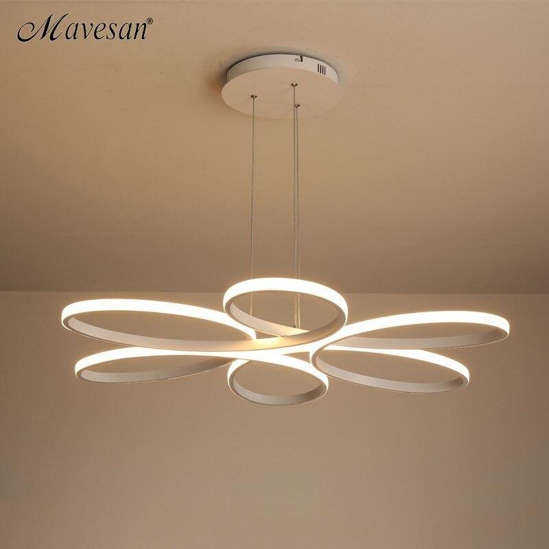 Plafond moderne à LEDs lumières télécommande pour salon chambre 78W 72W 90W 120W aluminium boby intérieur plafond lampe encastré - 5