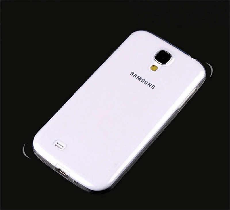 2018 Top Fashion Macio para Samsung Galaxy S3/s4/s5/s6/s7/s8/s9 para Mais Borda Transparente de Silicone Casos de Telefone de Volta Shell Tampa