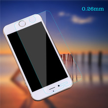Screen Protector Film 0 26mm9H Front Tempered Glass Toughened protective film For iPhone 6 6s 6Plus