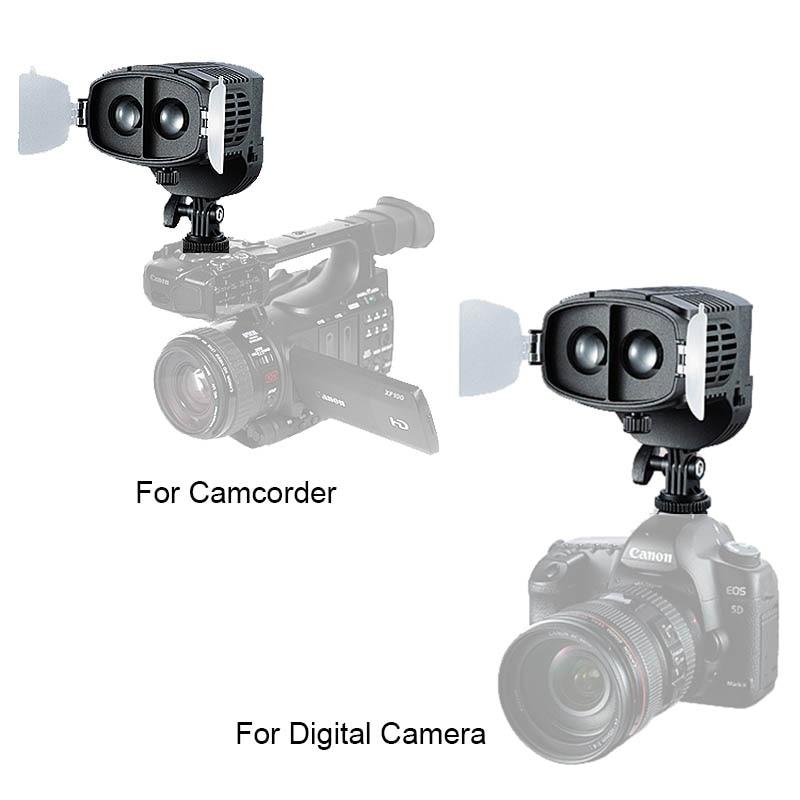 CN-20FC Kamera LED Işık Video Spotlight 3200-5600 K Canon Nikon - Kamera ve Fotoğraf - Fotoğraf 4