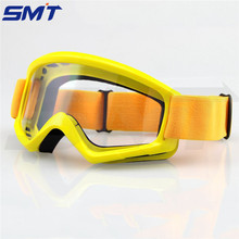 hot sale 6 colors Motorcycle Helmet Sunglasses Goggles yellow color Motocross Goggles Glasses Helmet Sport Snow Eyewear