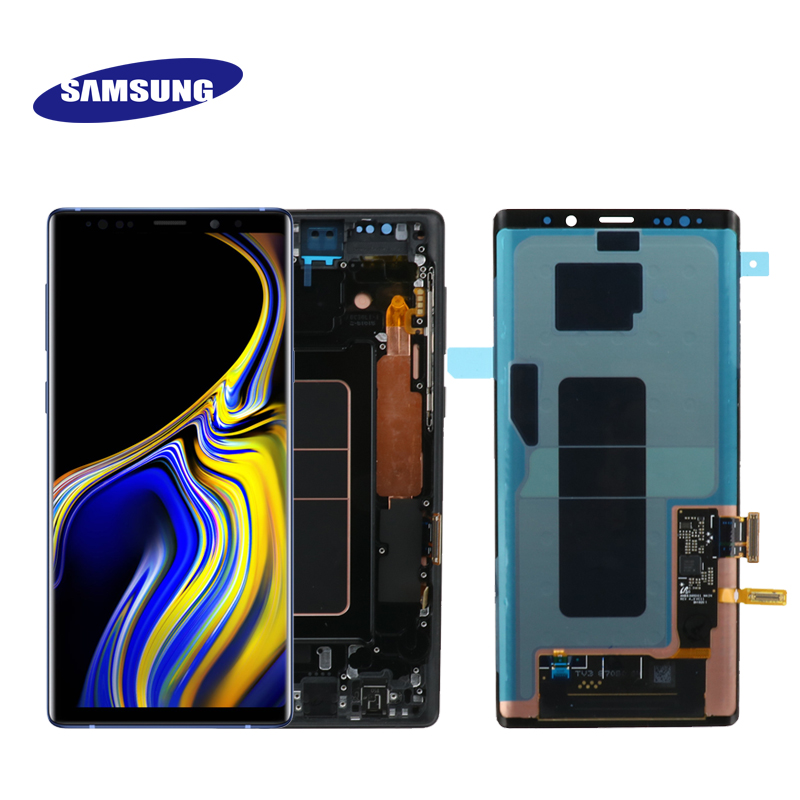 6 4 Original Super AMOLED LCD monitor for Samsung Galaxy NOTE9 N96D N96F LCD touch screen