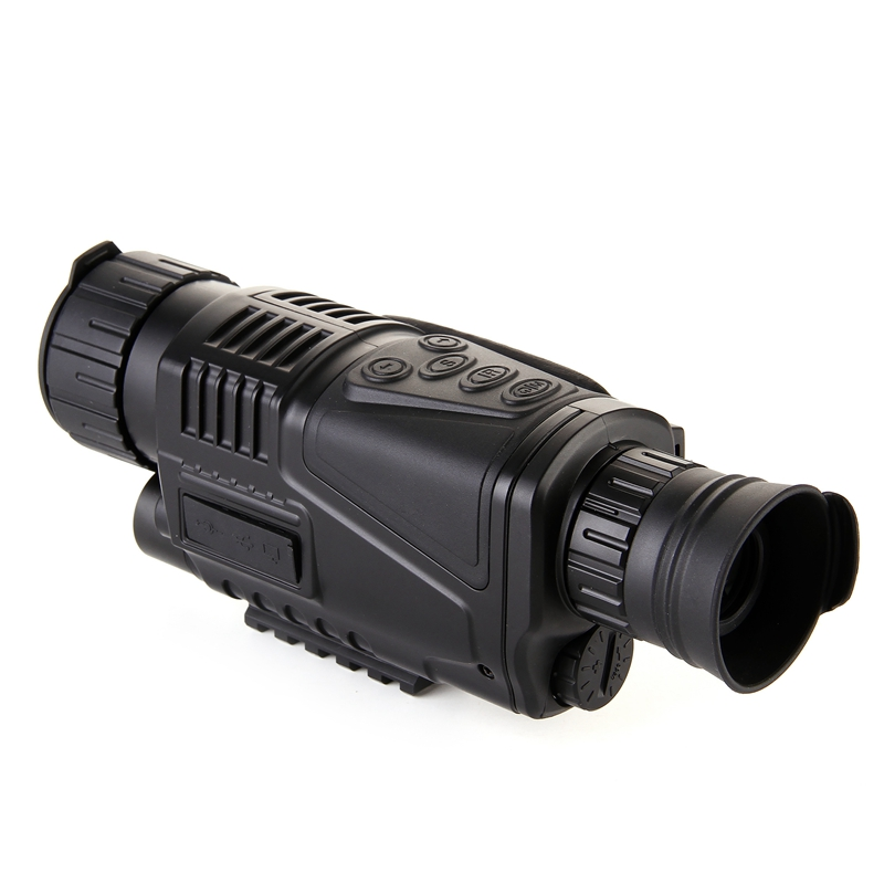 5X Night Vision High Quality Tactical Magnification  IR Infrared Zoom Monocular Scope Record DVR Night Vision Free Shipping dhl shipping infrared digital night vision monocular scope 5x40 for 200meter zoom 5x ir 5mp digital camera video in ccd