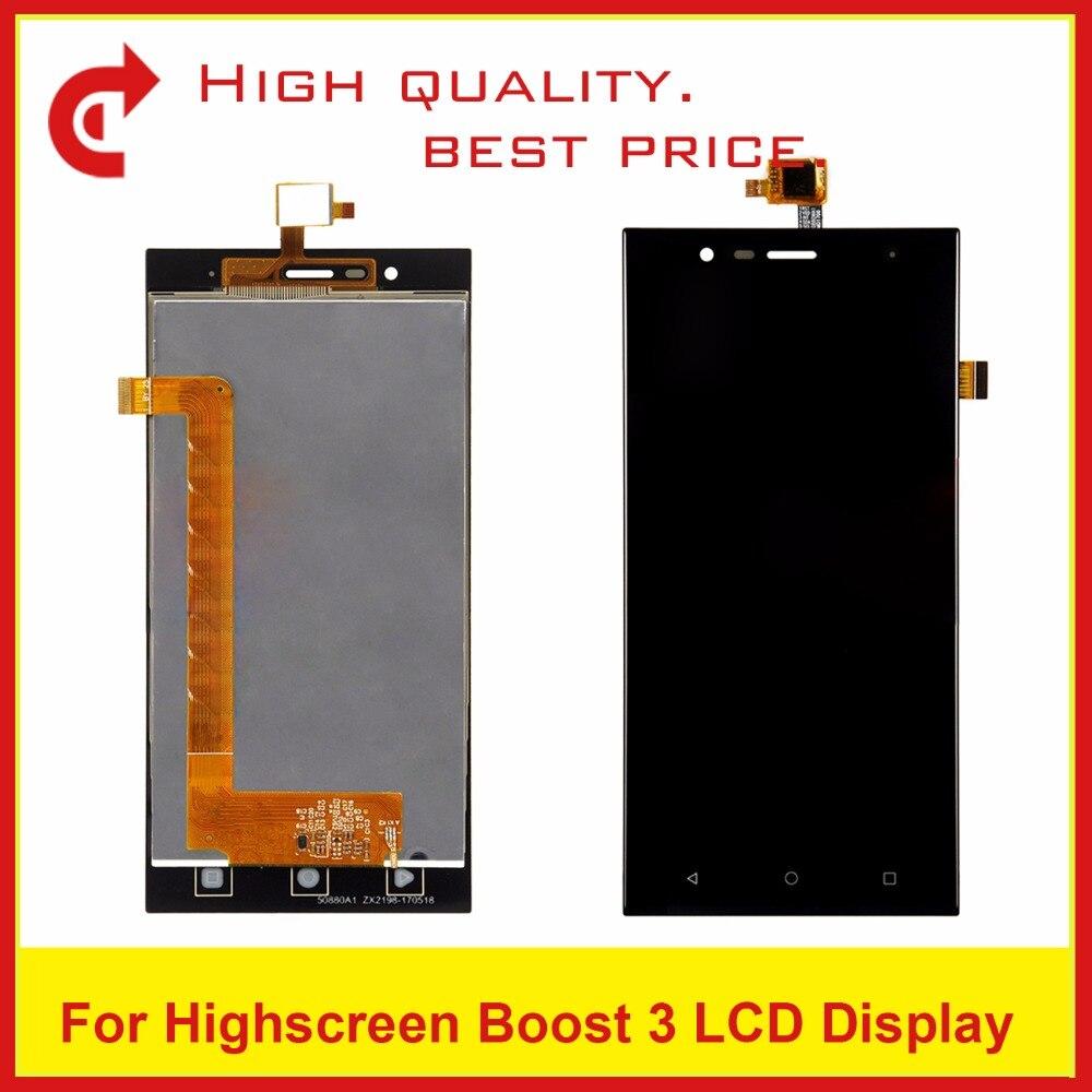 5.0 Pour Highscreen Boost 3/Boost 3 pro Lcd Affichage Écran Tactile Écran Numériseur Assemblée
