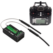 2018 New FS-i6X RC Radio Transmitter 2.4G FS-iA6B Receiver High Efficiency For RC Drone Quadcopter