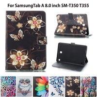 Fashion Pattern Case For Samsung Galaxy Tab A 8 0 Inch SM T350 T355 SM T355