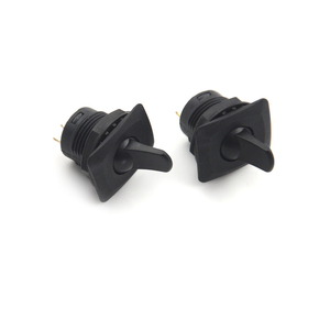 Image 4 - 2pcs Black Color SCI R13 402 ON ON 3Pin 2Position Maintained Round Toggle Switch SPDT Panel Mount Wholesale