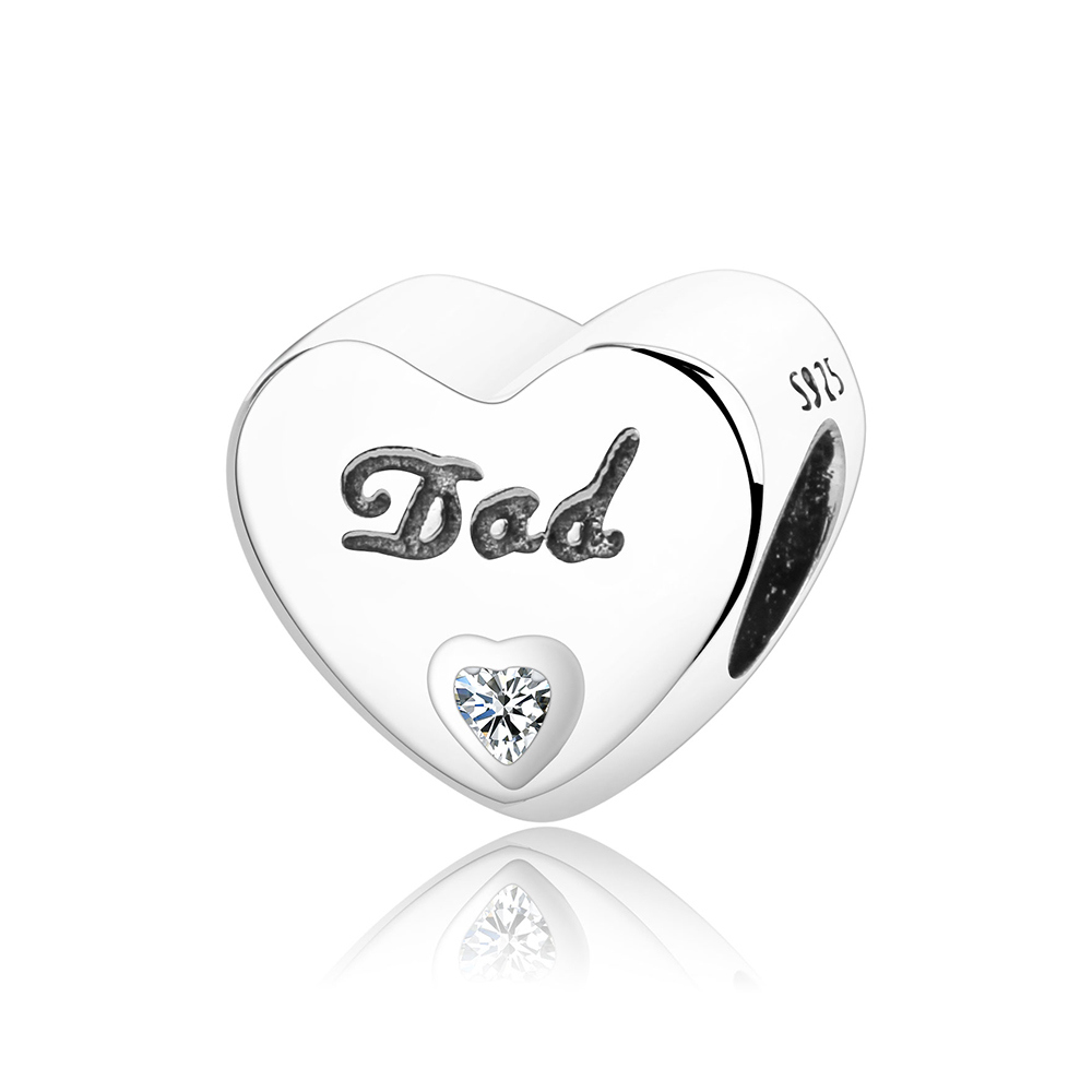 pandora dad and daughter charm