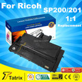 Для Ricoh SP200 Тонер-Картридж Лазерный Принтер, SP201 SP200 тонер картридж используйте для Ricoh SP200/SP200N/SP201S/SP201SF