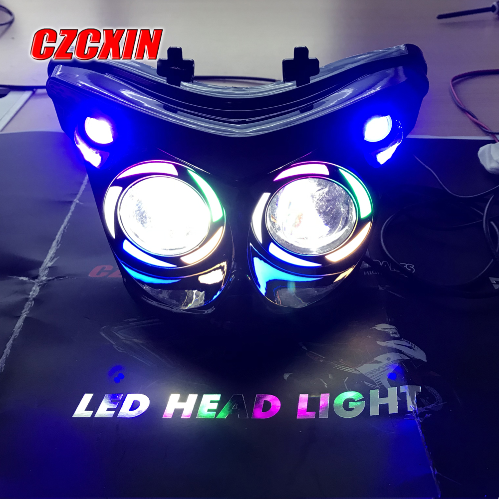 Bulb Led Y15zr: Motorcycle Headlight Modified LED Head Light Headlamp