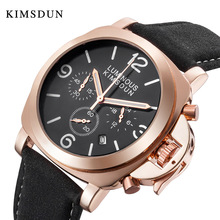 KIMSDUN Mens Watches Top Brand Luxury Sport Quartz Military Watch Men Waterproof Wristwatch Stop High Quality Dropshipping