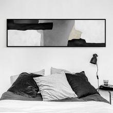 Новые китайские абстрактные черно белые чернила холст картины