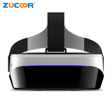 Android 3D VR BOX Glasses Virtual Reality All in one Video Game Helmet Support 32G TF Card 1G/8G Quad Core CPU Google Cardboard