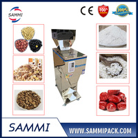 Stainless steel 1000g Granular rough powder weighing filling machine