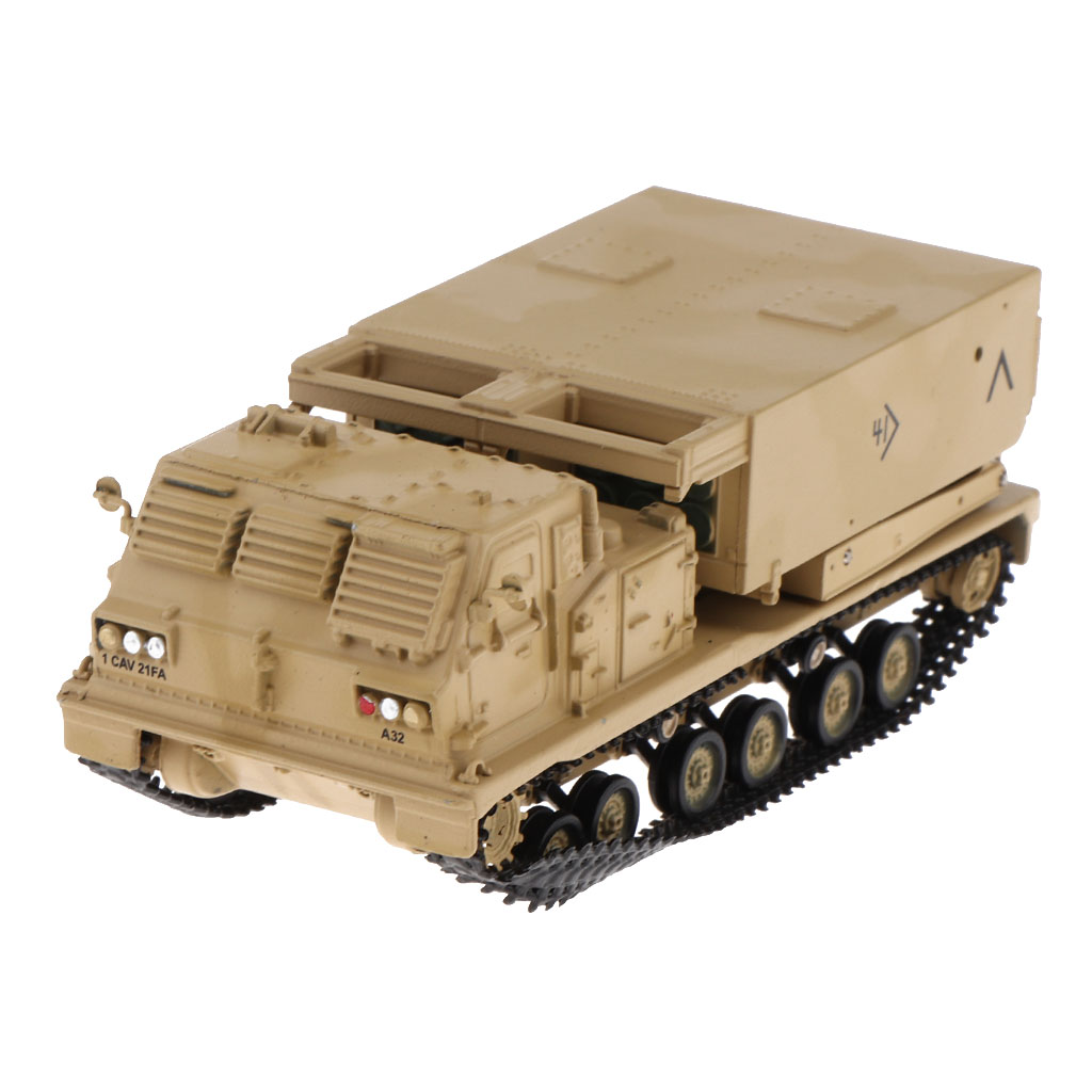 US $19 67 48% OFF|1/72 US M270 Multiple Launch Rocket System Model 2003  MLRS Self propelled Artillery & Tanks Kits Launcher Vehicle Army Model-in