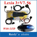 Lexia 3+ with LED Cable !!! Top selling lexia3 Diagnostic Tool pp2000 lexia 3,lexia-3 diagbox 7.56 software