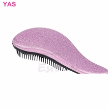 1PC Magic Handle Tangle Detangling Comb Hair Shower Brush Styling Salon Tamer #Y207E# Hot Sale