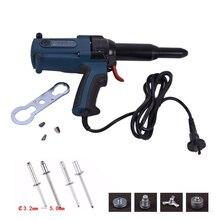 TAC_500 Электрический глухие заклепки пистолет Клепальный Инструмент Электрический Электроинструмент 400 Вт 220 В для 3,2-5,0 мм Высокое качество