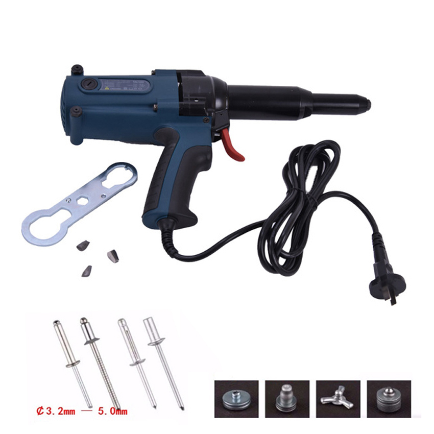 TAC_500 Electric Blind Rivets Gun Riveting Tool Electrical Power Tool 400W 220V For 3.2 5.0mm High Quality|rivet gun|rivet toolelectric rivet tool - AliExpress