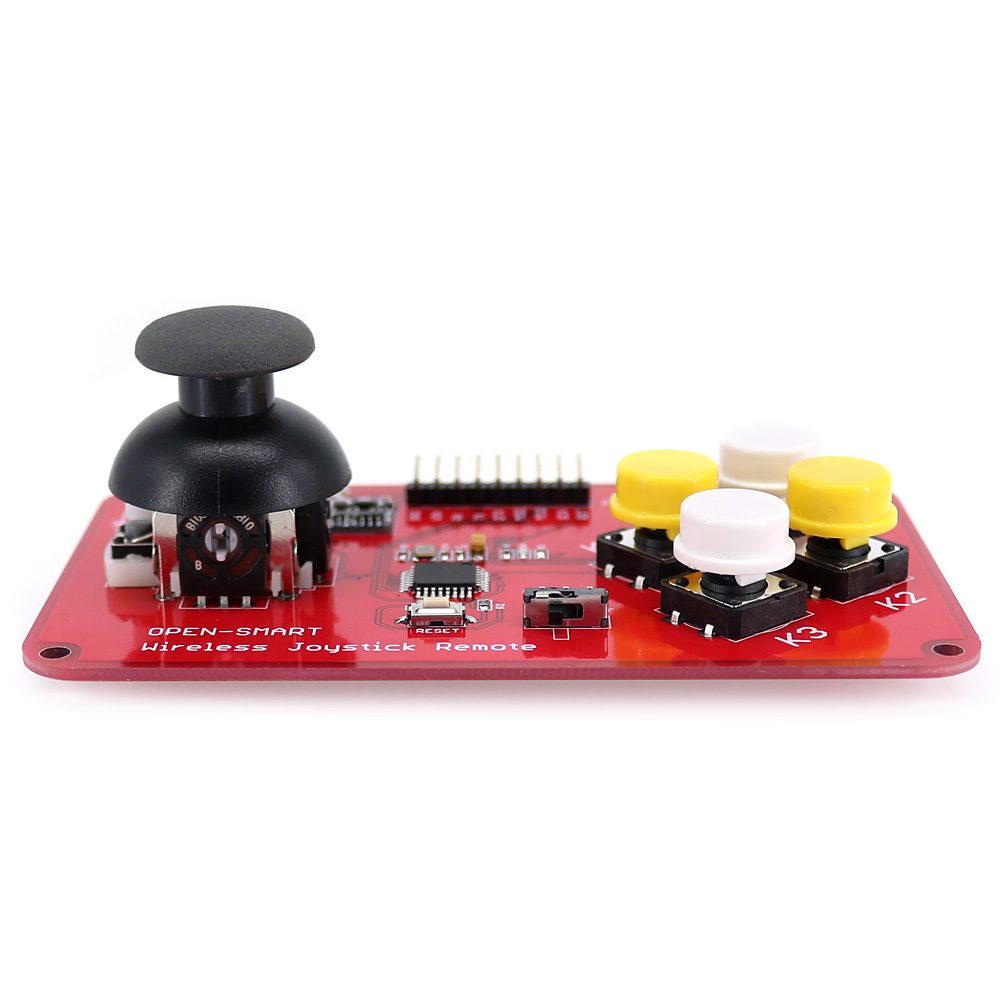Image 4 - PS2 Joystick Keypad RF 433MHz Wireless Joystick Game Remote Controller Module Transceiver Kit for Smart Car / 4 axis Aircraft-in Industrial Computer & Accessories from Computer & Office