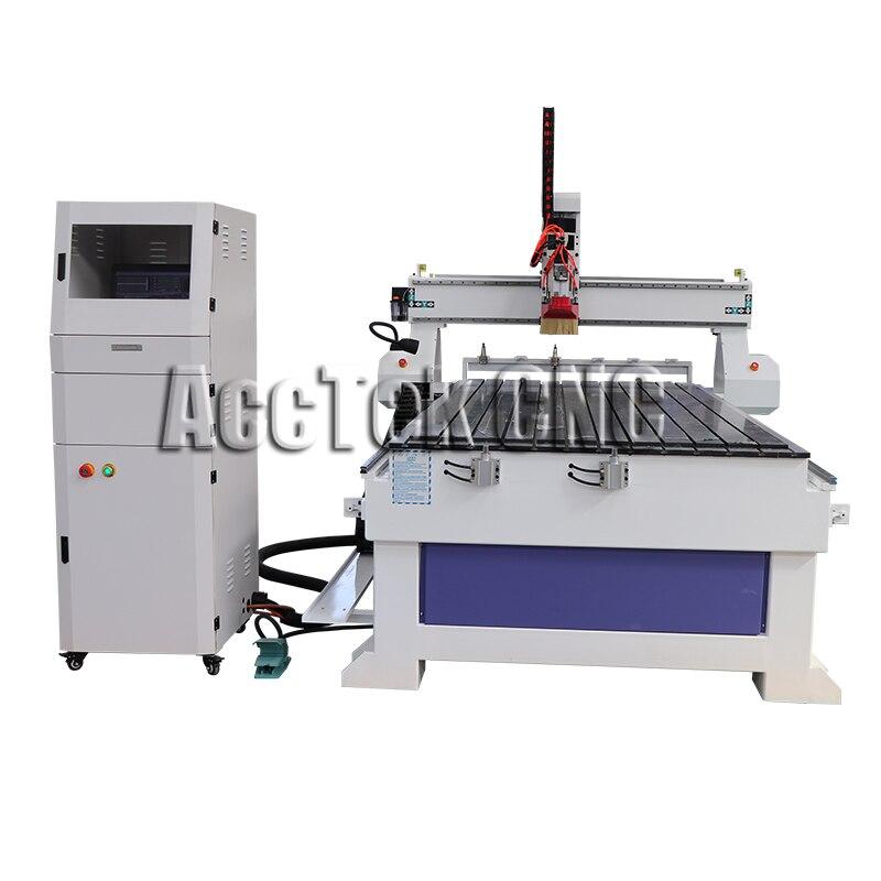 Máquina de grabado cnc barata de madera tallada atc cnc enrutador precio AKM1325C
