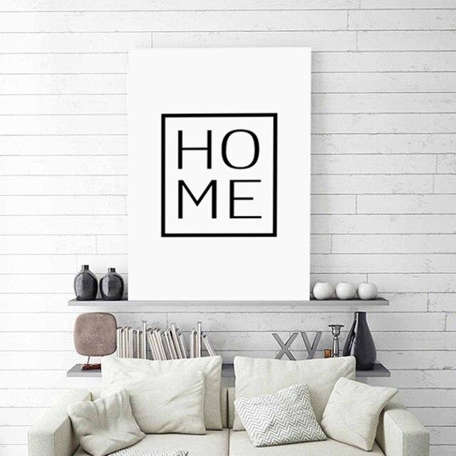 HAUSE Poster Typografie Wand Art Design Home Decor Familie Decor Adorable Design And Decor