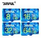 BiNFUL Free shipping Class10 32GB Memory Card SDXC 128GB 64GB SDHC 32GB/16GB/8GB/4GB micro sd card TF card Memory flash Microsd